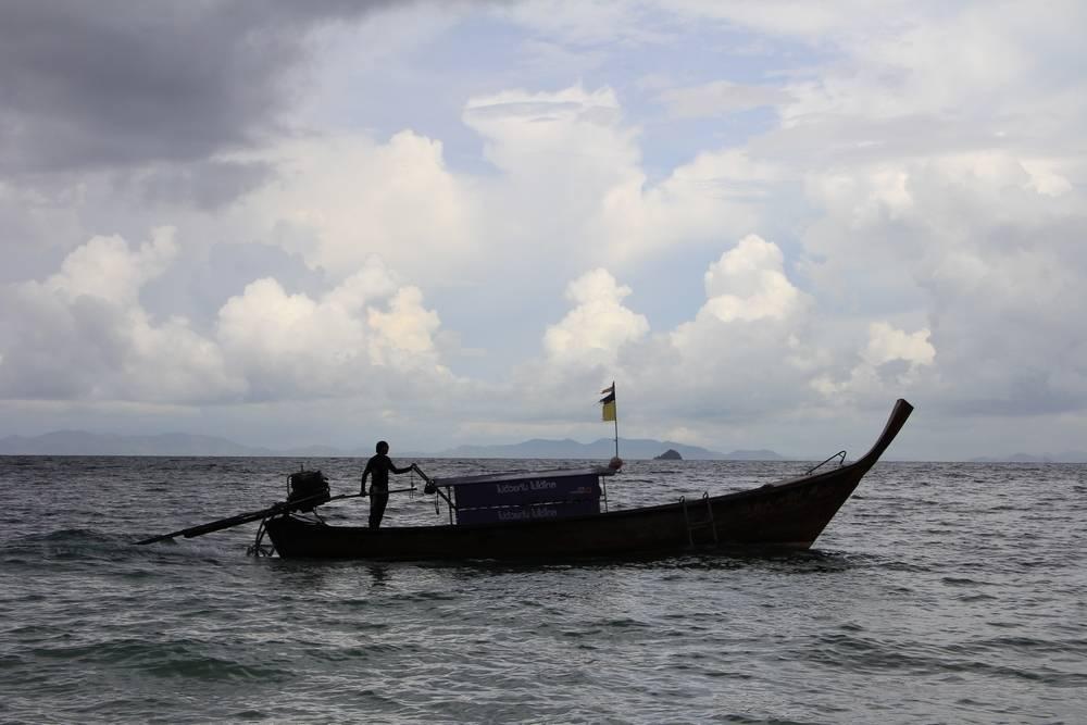 Лодка в Краби