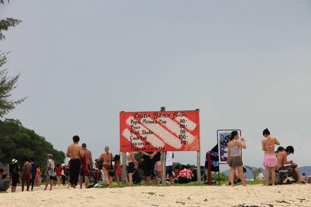Бар на пляже острова Пода