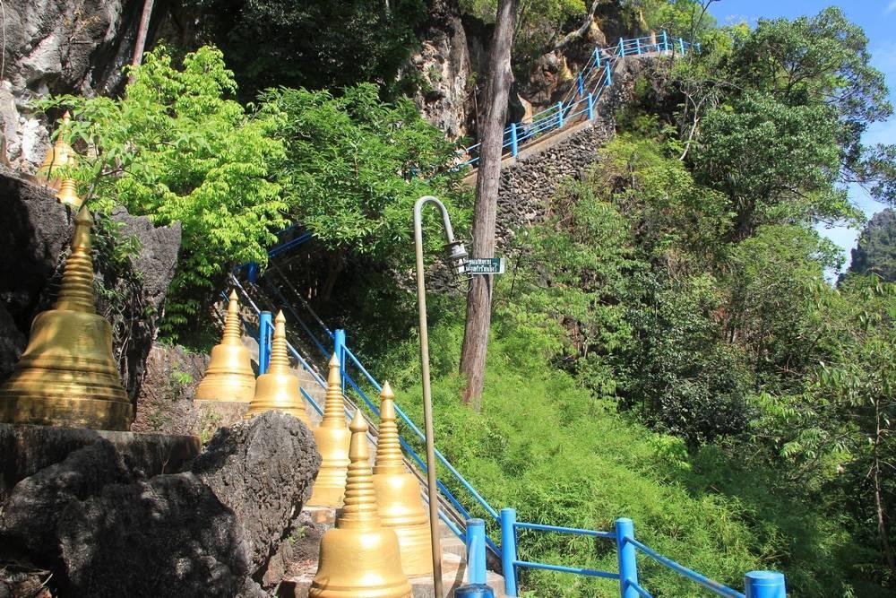 Голубая лестница в Таиланде