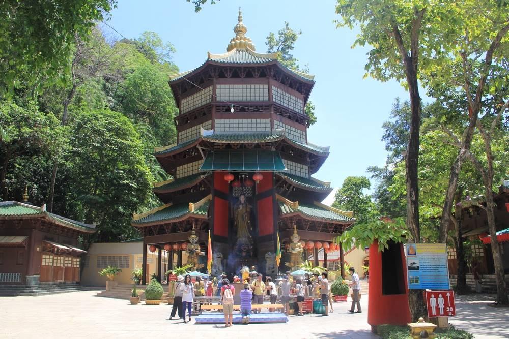 Таиланд - Краби - Храм тигриной пещеры Ват Там Суа (Thailand - Krabi - Tiger Cave Temple Wat Tham Suea)