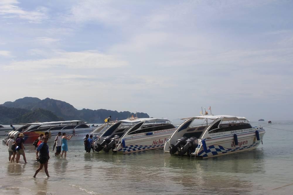 Быстрые лодки в Таиланде