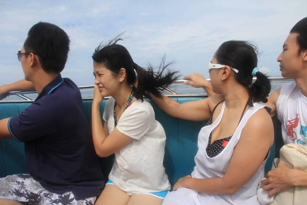 Экскурсия на лодке в Таиланде