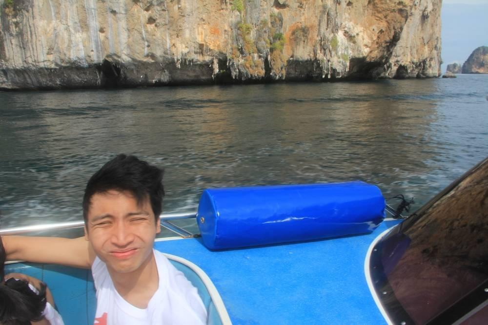Плывем на остров Пхи Пхи