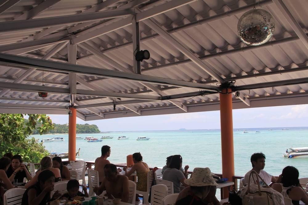 Ресторан на острове Пхи Пхи