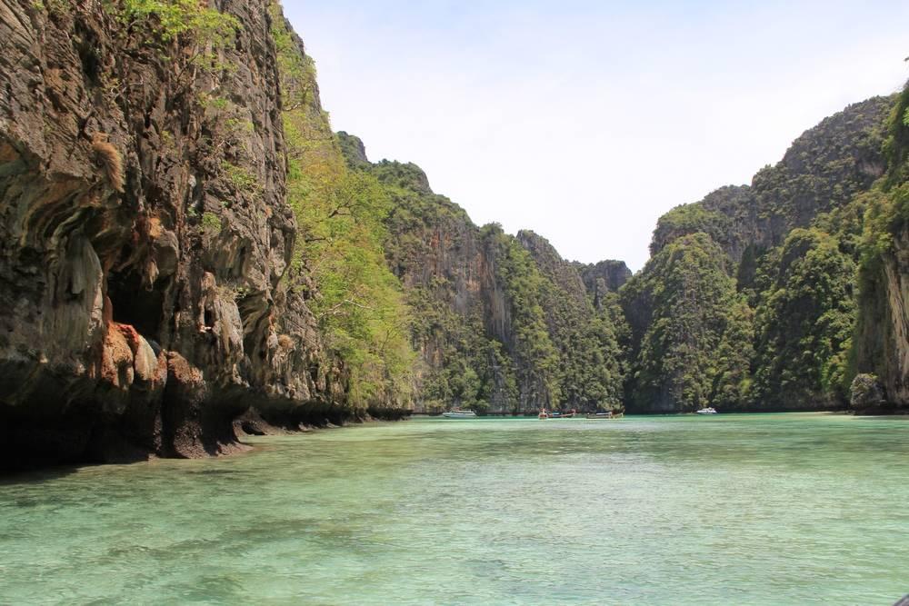 Красивая лагуна в Таиланде