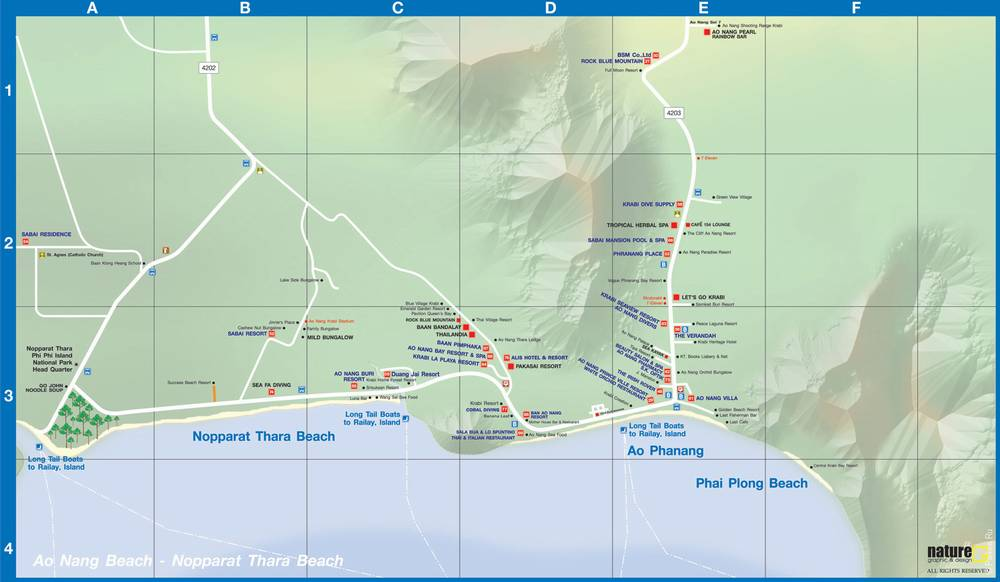 Ао Нанг на карте