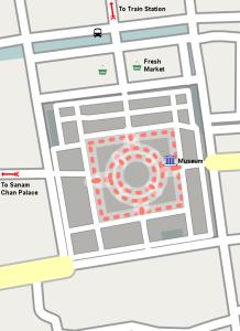 Схема Пхра Патом чеди