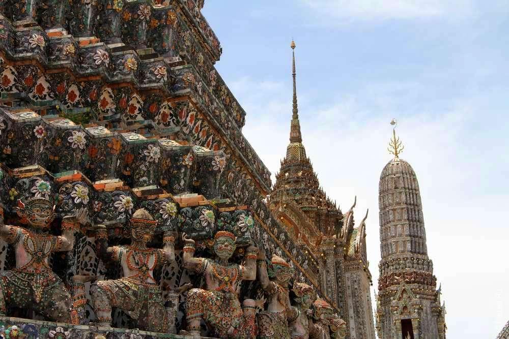 Храм утренней зари, Ват Арун, Бангкок, Таиланд
