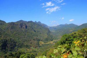 Горы в Анг Кханг, Северный Таиланд