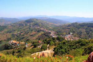 Красивые холмы в Мае Салонг