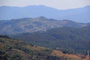 Зеленые горы на севере Королевства Таиланд