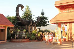 Скорпион в храме Мае Сай