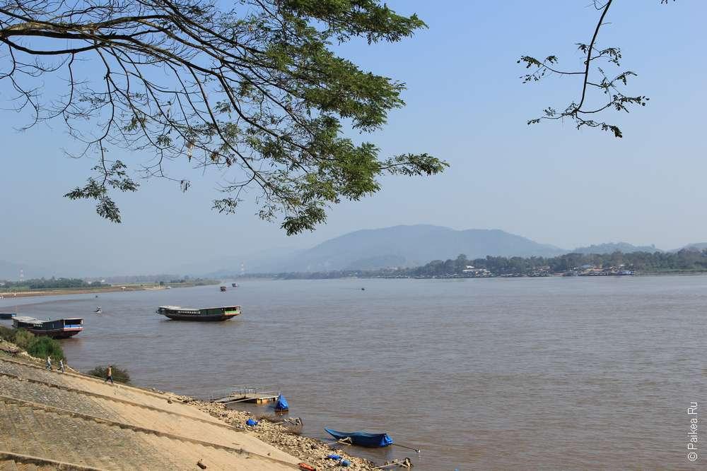 Чианг Саен набережная Меконга