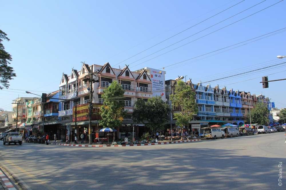 Чианг Саен главная улица
