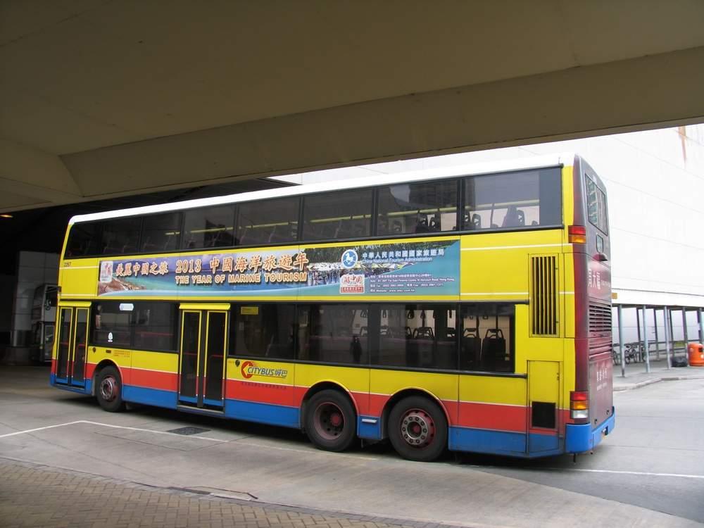 двухэтажный автобус в гонконге