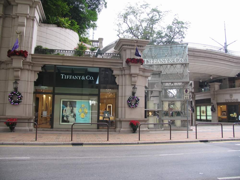 магазин тиффани в гонконге