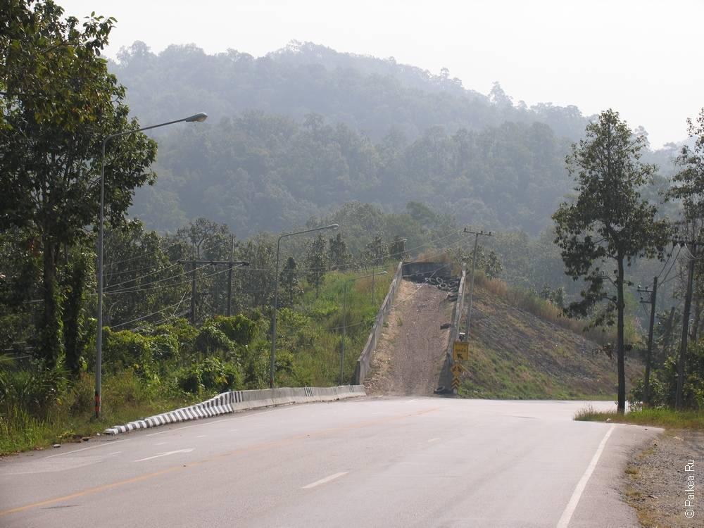 Таиланд неизвестный и нетуристический. Путешествие по маршруту Так - Мэ Сот - Та Сонг Янг (Tak - Mae Sot - Tha Song Yang)