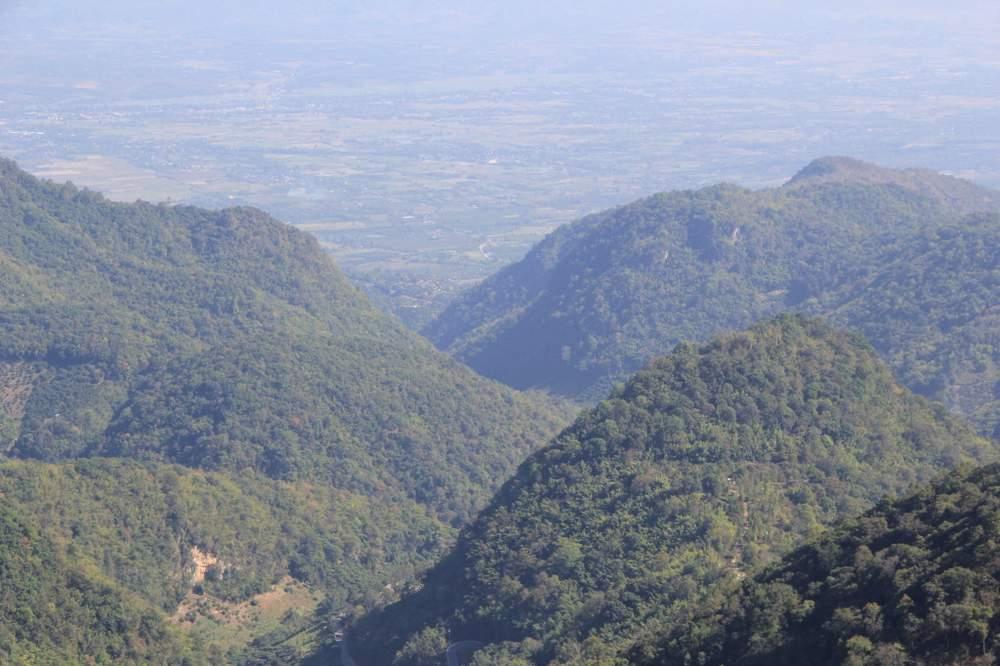 вид с горы дой анг кханг