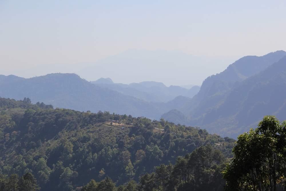 в горах северного таиланда