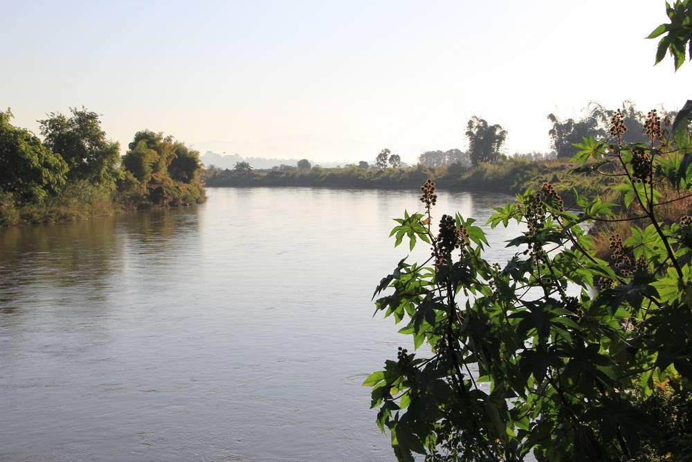 река кок в городе татон