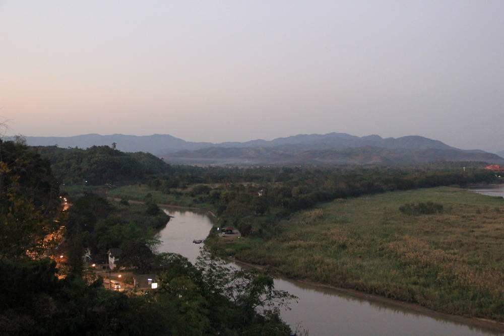 Река Руак - опиумный треугольник