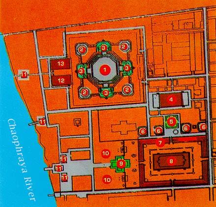 Схема храма Утренней зари