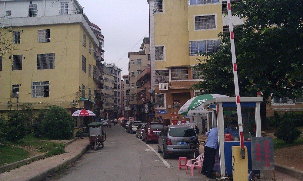 переулок в городе гуанчжоу