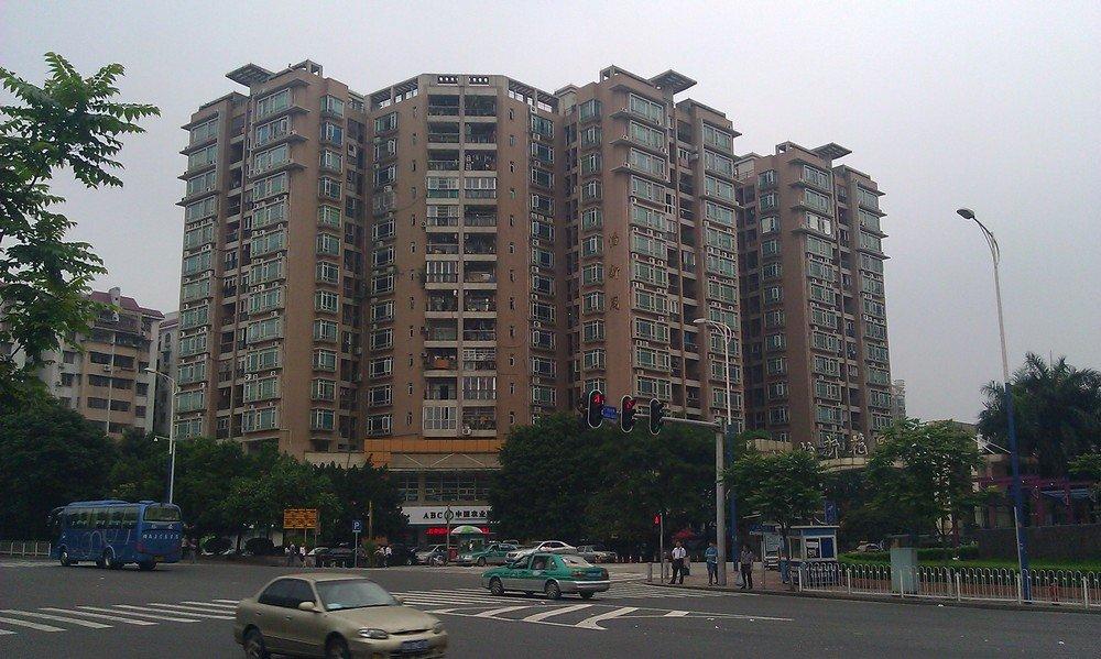 многоэтажный дом в гуанчжоу