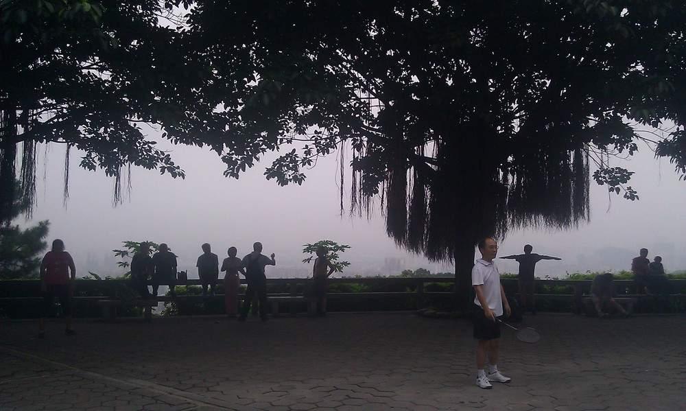 смотрова площадка на город Гуанчжоу
