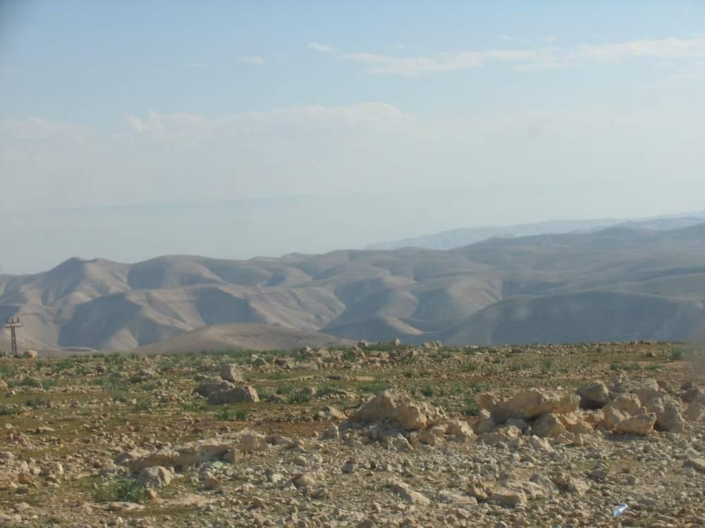Палестина - Дорога в Иерихон через пустыню (Palestine - Desert Road to Jericho)