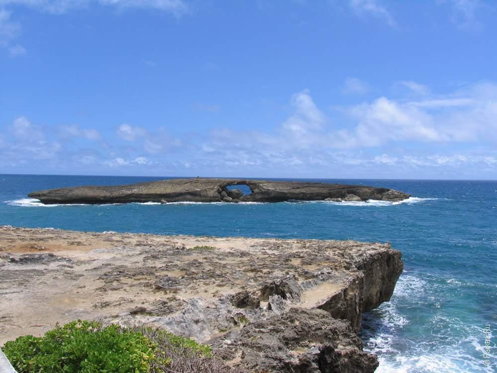 вулканический островок