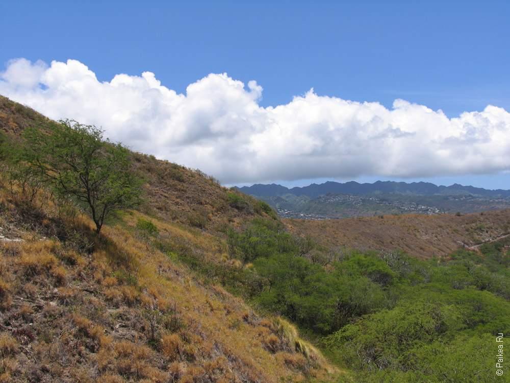 воронка вулкана на гавайях