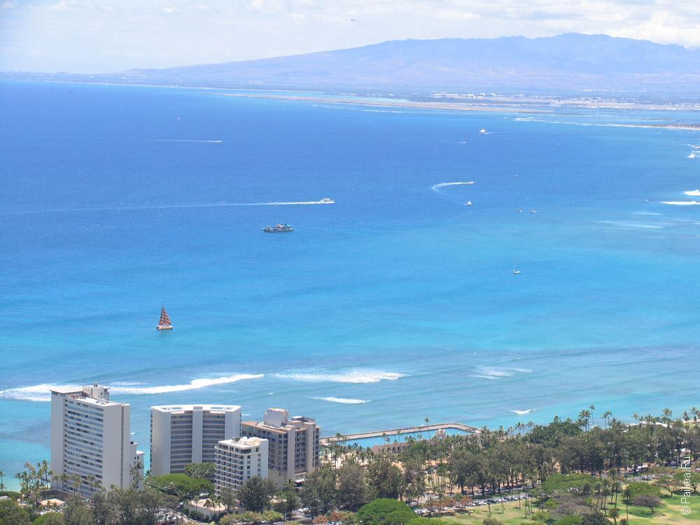 побережье тихого океана на гавайях