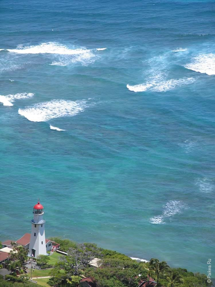 маяк на берегу океана
