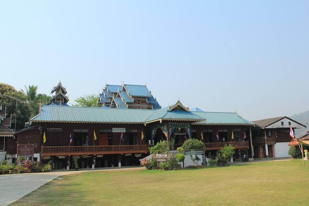 Таиланд - Кун Юам - Ват То Пэ (Thailand - Khun Yuam - Wat To Phae)