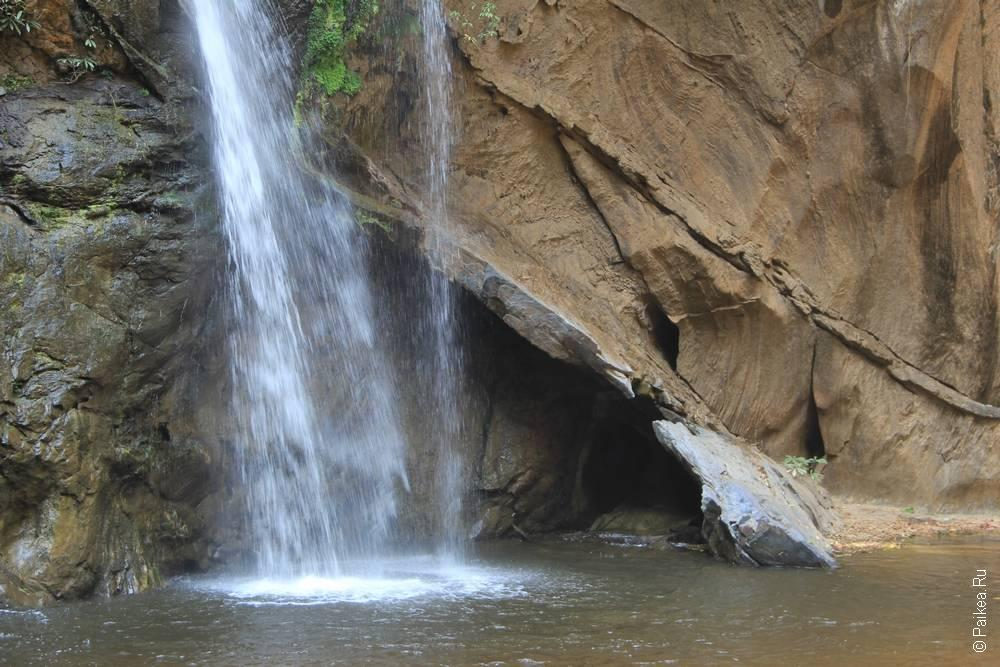 Водопад Хмок Фа и царство летучих мышей в Таиланде
