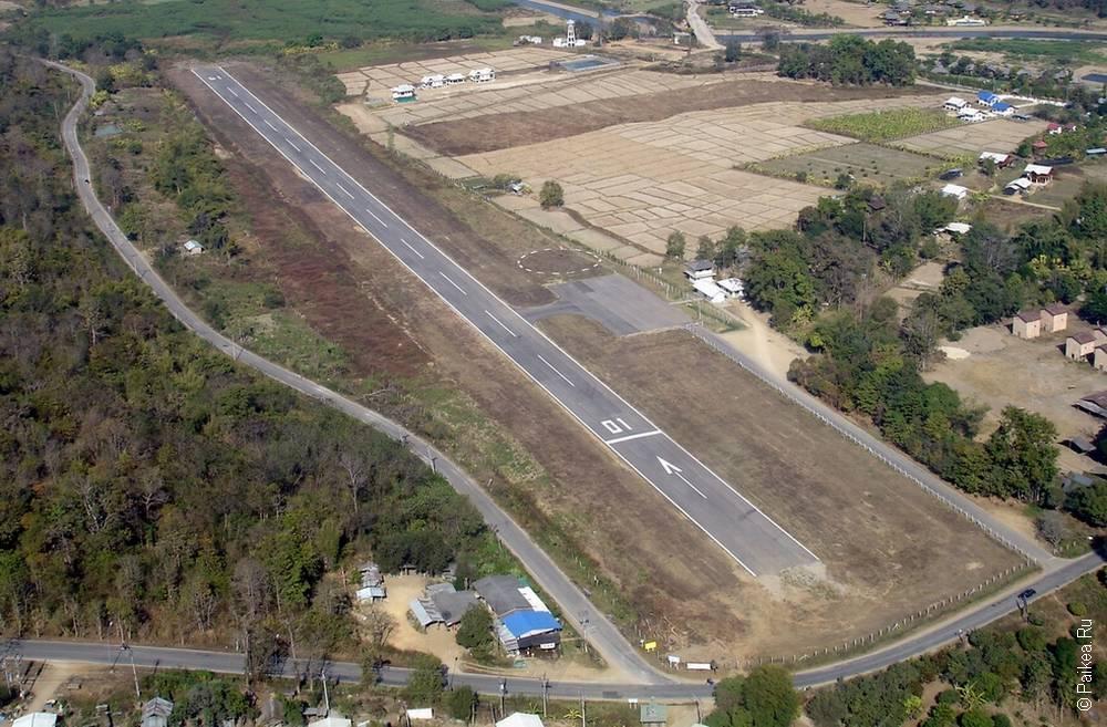 Новый аэродром в Таиланде