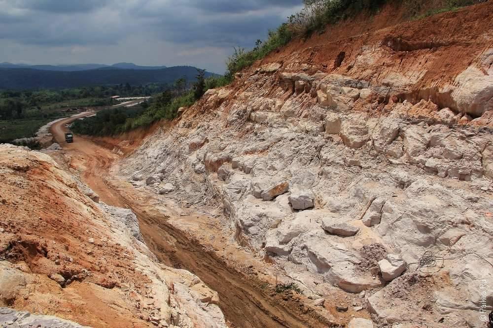 дорога на плато болавен