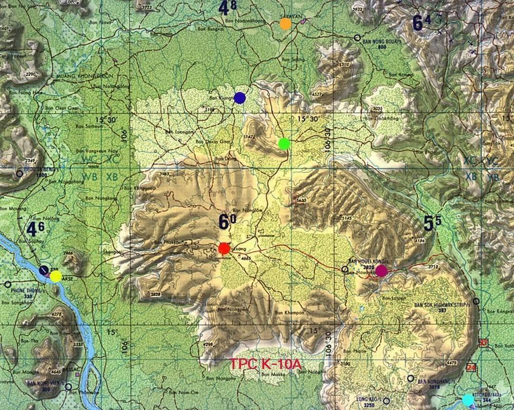 Плато Болавен на карте