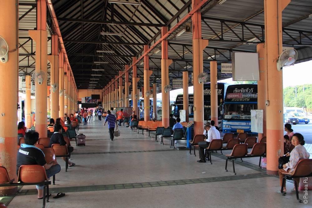 Автовокзал в Убон Ратчатани (Bus Terminal, Ubon Ratchatani)
