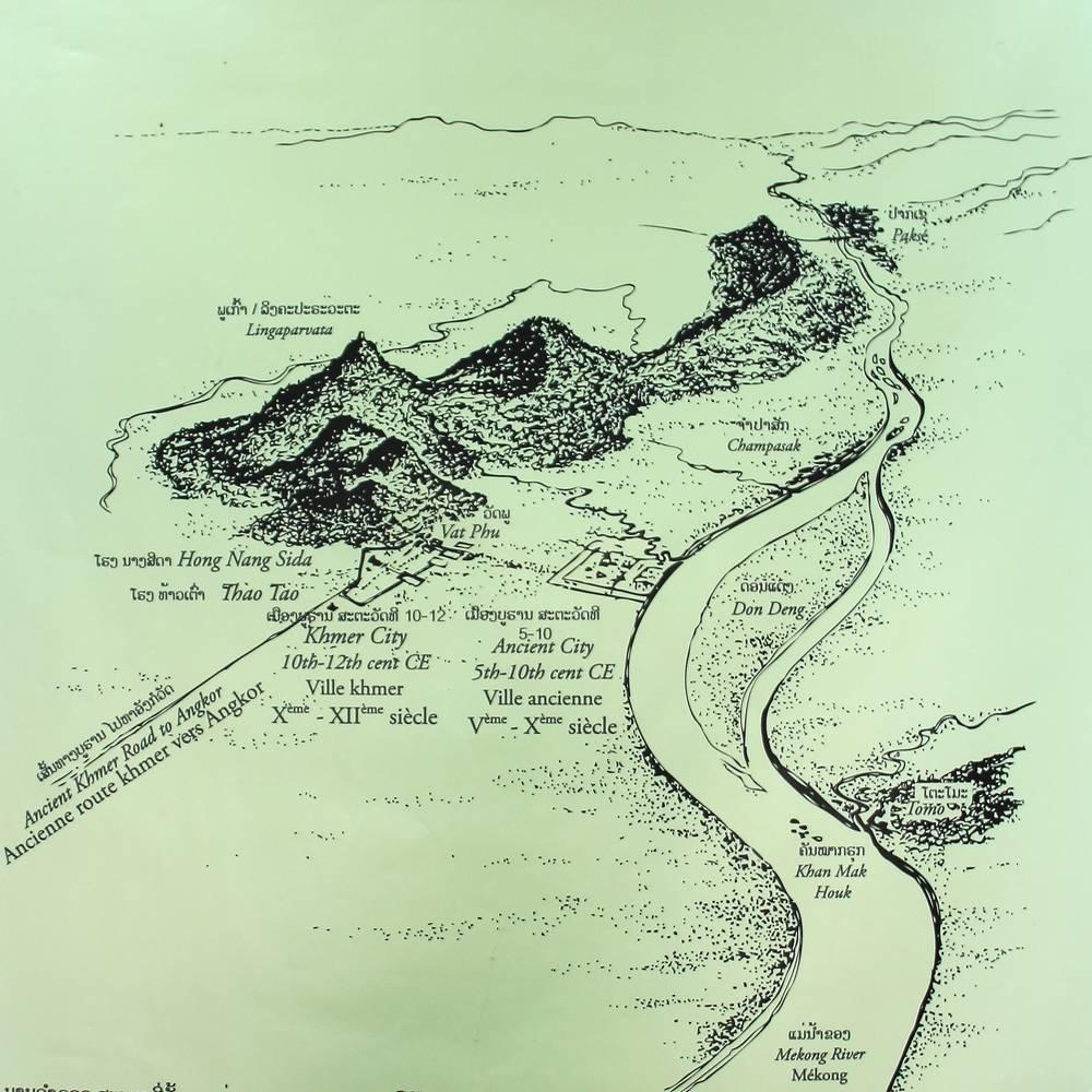 Карта Ват Томо