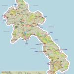 Карта Лаоса (Laos Map)