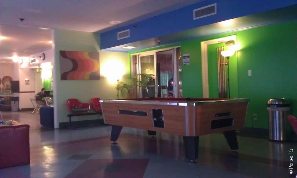 Banana Bungalow West Hollywood hostel