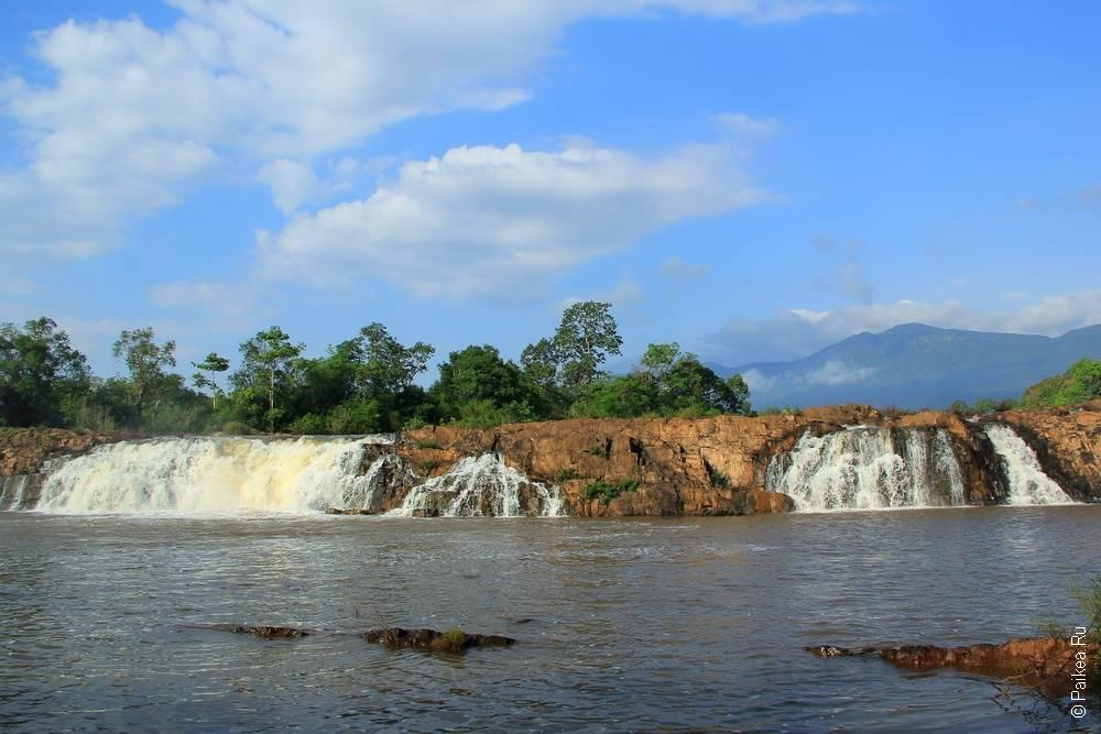 Лаос - Плато Болавен от Секонга до Паксонга (Laos - Bolaven plateau from Sekong To Paksong)