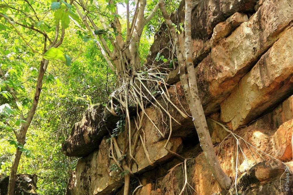 Лаос - Та Кек - Великая стена (Laos - Tha Khek - Great wall)
