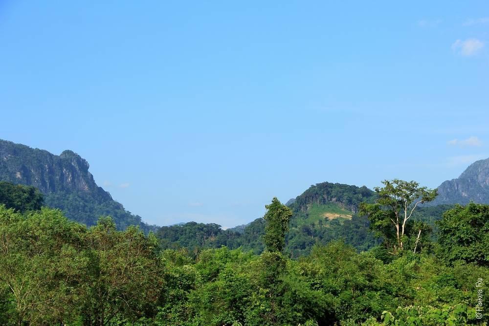 Лаос - Такек - Пещерное царство - Пещера Коунг Конг Ленг (Laos - Tha Khek - Cave Kingdom - Khoung Kong Leng)