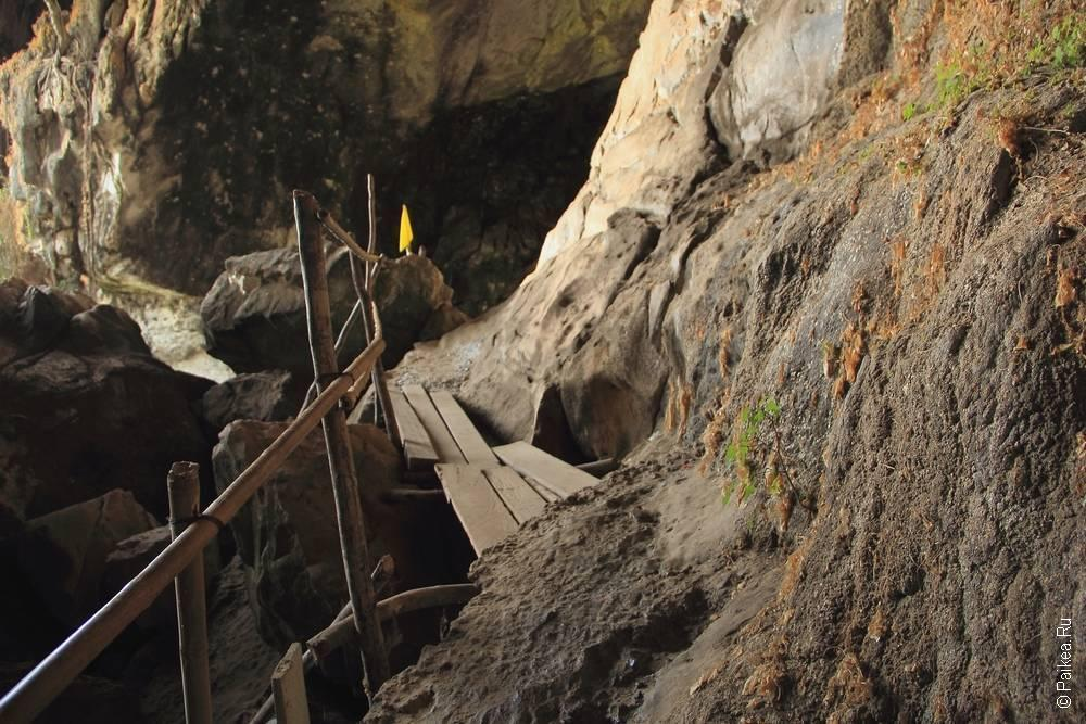 Лаос - Такек - Пещерное царство - Слоновья пещера (Laos - Tha Khek - Cave Kingdom - Tham Xang Elephant Cave)