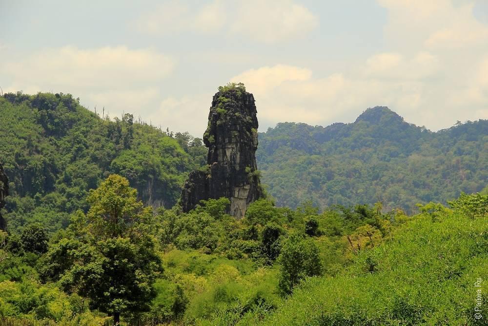Лаос - Такек - Пещерное царство - Там Па Фа, или Пещера Будды (Laos - Tha Khek - Cave Kingdom - Tham Pha Fa, Buddha cave)