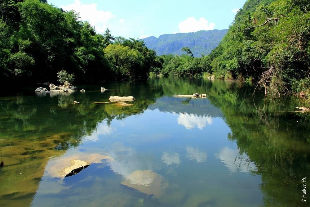 Лаос - Такек - Пещерное царство - Та Фалан (Laos - Tha Khek - Cave Kingdom - Tha Falan)
