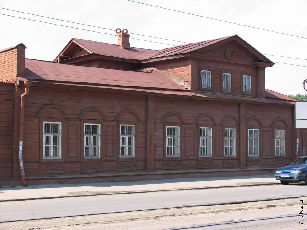 Деревянный дом в Ульяновске
